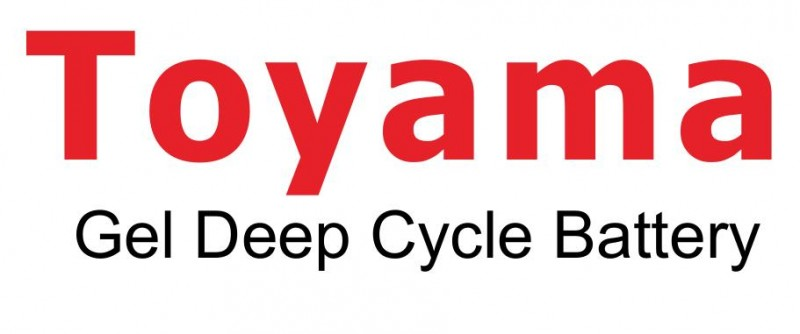 toyama gel deep cycle battery
