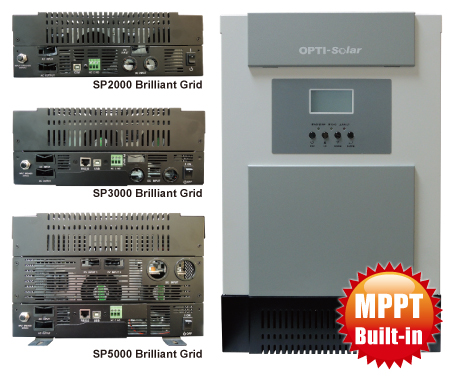 Внешний вид инвертора OPTI-Solar SP5000 Brilliant Grid